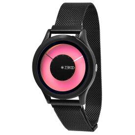 ZEROO ゼロ 電池式クォーツ 腕時計 [W00801B03ZMBK] MAGIA AURORA