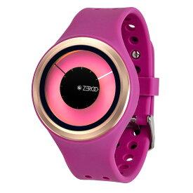 ZEROO MAGIA AURORA ゼロ 電池式クォーツ 腕時計 [W00801B05SR07] マゼンタ デザインウォッチ ペア用 メンズ レディース ユニセックス おしゃれ時計 デザイナーズ