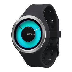 ZEROO MAGIA AURORA ゼロ 電池式クォーツ 腕時計 [W00802B01SR02] ブラック デザインウォッチ ペア用 メンズ レディース ユニセックス おしゃれ時計 デザイナーズ
