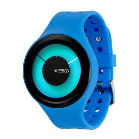 ZEROO MAGIA AURORA ゼロ 電池式クォーツ 腕時計 [W00802B03SR04] ブルー デザインウォッチ ペア用 メンズ レディース ユニセックス おしゃれ時計 デザイナーズ