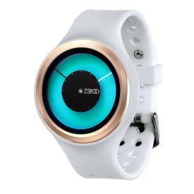 ZEROO MAGIA AURORA ゼロ 電池式クォーツ 腕時計 [W00802B05SR01] ホワイト デザインウォッチ ペア用 メンズ レディース ユニセックス おしゃれ時計 デザイナーズ