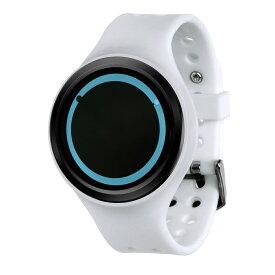 ZEROO PLANET ECLIPSE ゼロ 電池式クォーツ 腕時計 [W00901B03SR01] ホワイト デザインウォッチ ペア用 メンズ レディース ユニセックス おしゃれ時計 デザイナーズ