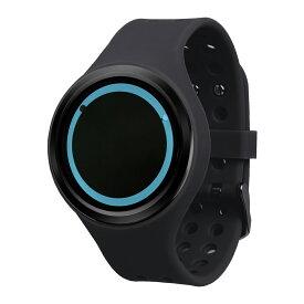 ZEROO PLANET ECLIPSE ゼロ 電池式クォーツ 腕時計 [W00901B03SR02] ブラック デザインウォッチ ペア用 メンズ レディース ユニセックス おしゃれ時計 デザイナーズ