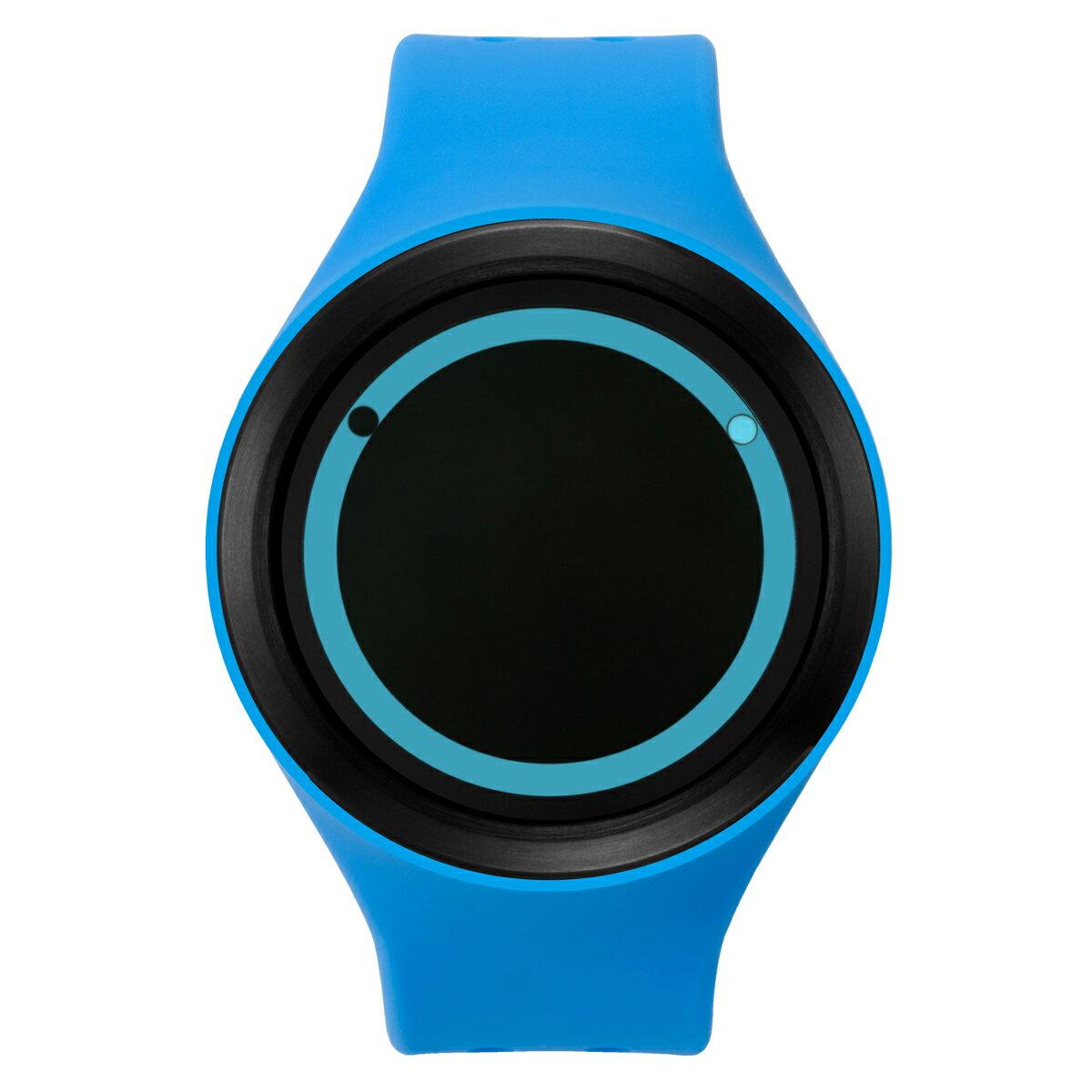 ZEROO PLANET ECLIPSE ゼロ 電池式クォーツ 腕時計 [W00901B03SR04] ブルー デザインウォッチ ペア用 メンズ レディース ユニセックス おしゃれ時計 デザイナーズ