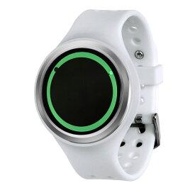 ZEROO PLANET ECLIPSE ゼロ 電池式クォーツ 腕時計 [W00902B01SR01] ホワイト デザインウォッチ ペア用 メンズ レディース ユニセックス おしゃれ時計 デザイナーズ