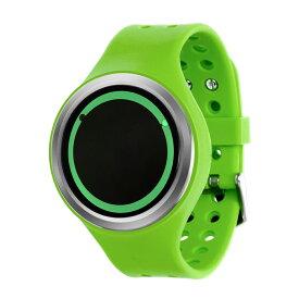 ZEROO PLANET ECLIPSE ゼロ 電池式クォーツ 腕時計 [W00902B01SR05] グリーン デザインウォッチ ペア用 メンズ レディース ユニセックス おしゃれ時計 デザイナーズ