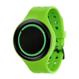ZEROO PLANET ECLIPSE ゼロ 電池式クォーツ 腕時計 [W00902B03SR05] グリーン デザインウォッチ ペア用 メンズ レディース ユニセックス おしゃれ時計 デザイナーズ