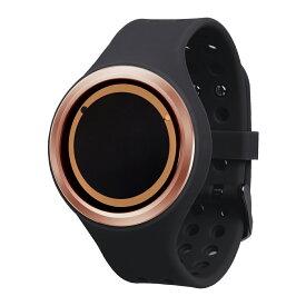 ZEROO PLANET ECLIPSE ゼロ 電池式クォーツ 腕時計 [W00903B05SR02] ブラック デザインウォッチ ペア用 メンズ レディース ユニセックス おしゃれ時計 デザイナーズ