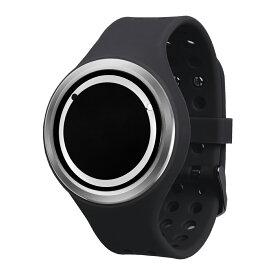 ZEROO PLANET ECLIPSE ゼロ 電池式クォーツ 腕時計 [W00904B01SR02] ブラック デザインウォッチ ペア用 メンズ レディース ユニセックス おしゃれ時計 デザイナーズ