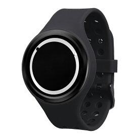 ZEROO PLANET ECLIPSE ゼロ 電池式クォーツ 腕時計 [W00904B03SR02] ブラック デザインウォッチ ペア用 メンズ レディース ユニセックス おしゃれ時計 デザイナーズ
