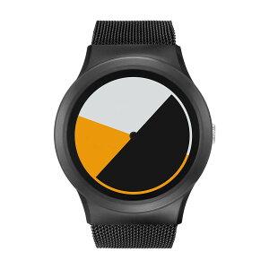ZEROOCOLOREDTIMEゼロ電池式クォーツ腕時計[W01001B03SM03]イエロー