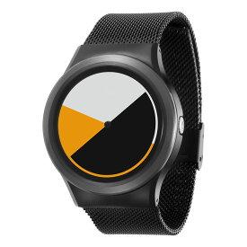 ZEROO COLORED TIME ゼロ 電池式クォーツ 腕時計 [W01001B03SM03] イエロー デザインウォッチ ペア用 メンズ レディース ユニセックス おしゃれ時計 デザイナーズ