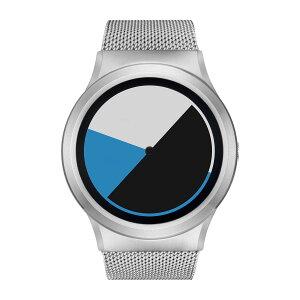 ZEROOCOLOREDTIMEゼロ電池式クォーツ腕時計[W01002B01SM01]ブルー