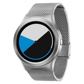 ZEROO COLORED TIME ゼロ 電池式クォーツ 腕時計 [W01002B01SM01] ブルー デザインウォッチ ペア用 メンズ レディース ユニセックス おしゃれ時計 デザイナーズ