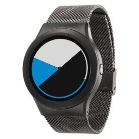 ZEROO COLORED TIME ゼロ 電池式クォーツ 腕時計 [W01002B02SM02] ブルー デザインウォッチ ペア用 メンズ レディース ユニセックス おしゃれ時計 デザイナーズ
