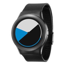 ZEROO COLORED TIME ゼロ 電池式クォーツ 腕時計 [W01002B03SM03] ブルー デザインウォッチ ペア用 メンズ レディース ユニセックス おしゃれ時計 デザイナーズ