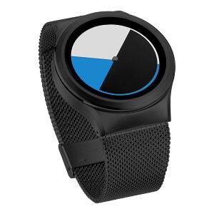 ZEROOCOLOREDTIMEゼロ電池式クォーツ腕時計[W01002B03SM03]ブルー