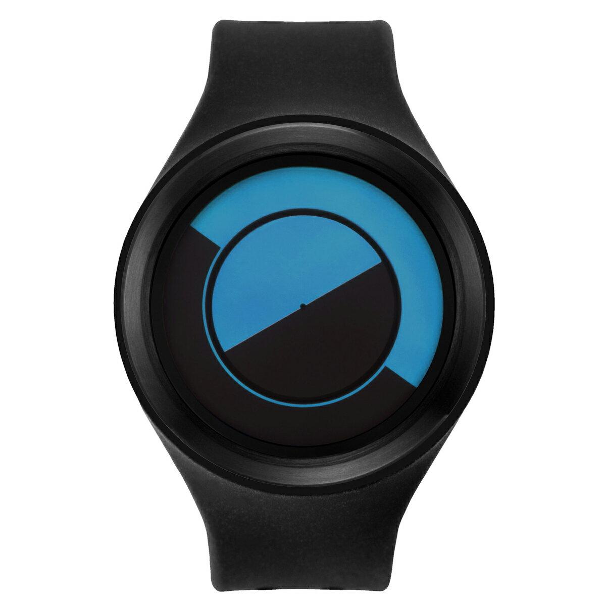 ZEROO QUARTER MOON ゼロ 電池式クォーツ 腕時計 [W01002B03SR02] ブラック デザインウォッチ ペア用 メンズ レディース ユニセックス おしゃれ時計 デザイナーズ