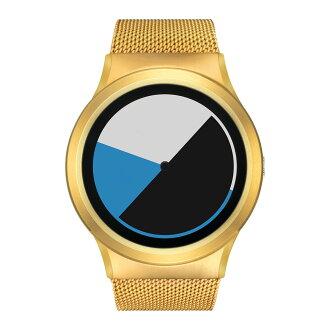ZEROO COLORED TIME zero battery type quartz watch [W01002B04SM04] blue