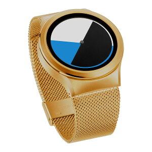ZEROOCOLOREDTIMEゼロ電池式クォーツ腕時計[W01002B04SM04]ブルー