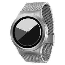 ZEROO COLORED TIME ゼロ 電池式クォーツ 腕時計 [W01003B01SM01] グレイ デザインウォッチ ペア用 メンズ レディース ユニセックス おしゃれ時計 デザイナーズ