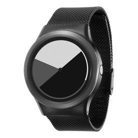 ZEROO COLORED TIME ゼロ 電池式クォーツ 腕時計 [W01003B03SM03] グレイ デザインウォッチ ペア用 メンズ レディース ユニセックス おしゃれ時計 デザイナーズ
