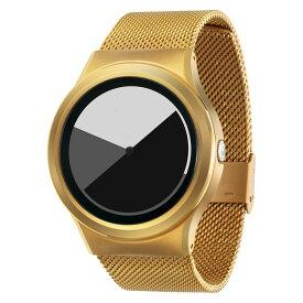 ZEROO COLORED TIME ゼロ 電池式クォーツ 腕時計 [W01003B04SM04] グレイ デザインウォッチ ペア用 メンズ レディース ユニセックス おしゃれ時計 デザイナーズ