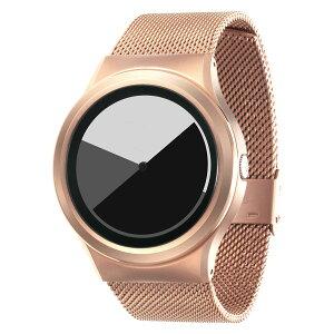 ZEROOCOLOREDTIMEゼロ電池式クォーツ腕時計[W01003B05SM05]グレイ