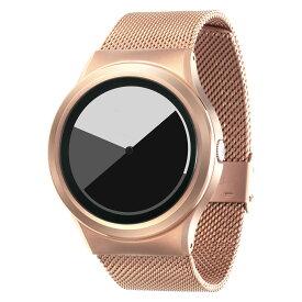 ZEROO COLORED TIME ゼロ 電池式クォーツ 腕時計 [W01003B05SM05] グレイ デザインウォッチ ペア用 メンズ レディース ユニセックス おしゃれ時計 デザイナーズ