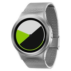 ZEROO COLORED TIME ゼロ 電池式クォーツ 腕時計 [W01004B01SM01] グリーン デザインウォッチ ペア用 メンズ レディース ユニセックス おしゃれ時計 デザイナーズ