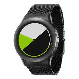 ZEROO COLORED TIME ゼロ 電池式クォーツ 腕時計 [W01004B03SM03] グリーン デザインウォッチ ペア用 メンズ レディース ユニセックス おしゃれ時計 デザイナーズ