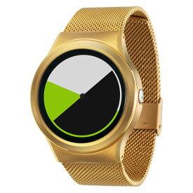 ZEROO COLORED TIME ゼロ 電池式クォーツ 腕時計 [W01004B04SM04] グリーン デザインウォッチ ペア用 メンズ レディース ユニセックス おしゃれ時計 デザイナーズ