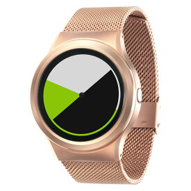 ZEROO COLORED TIME ゼロ 電池式クォーツ 腕時計 [W01004B05SM05] グリーン デザインウォッチ ペア用 メンズ レディース ユニセックス おしゃれ時計 デザイナーズ