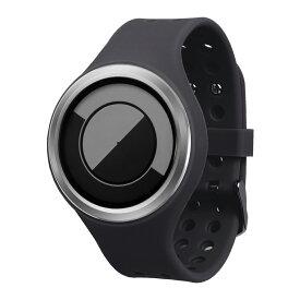 ZEROO QUARTER MOON ゼロ 電池式クォーツ 腕時計 [W01005B01SR02] ブラック デザインウォッチ ペア用 メンズ レディース ユニセックス おしゃれ時計 デザイナーズ