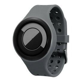 ZEROO QUARTER MOON ゼロ 電池式クォーツ 腕時計 [W01005B03SR03] グレー デザインウォッチ ペア用 メンズ レディース ユニセックス おしゃれ時計 デザイナーズ