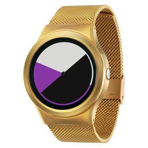 ZEROOCOLOREDTIMEゼロ電池式クォーツ腕時計[W01005B04SM04]パープル
