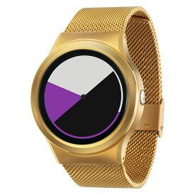 ZEROO COLORED TIME ゼロ 電池式クォーツ 腕時計 [W01005B04SM04] パープル デザインウォッチ ペア用 メンズ レディース ユニセックス おしゃれ時計 デザイナーズ