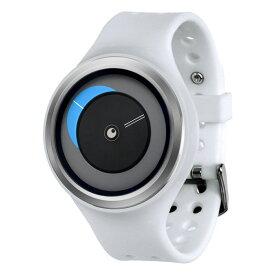 ZEROO CRESCENT MOON ゼロ 電池式クォーツ 腕時計 [W01101B01SR01] ホワイト デザインウォッチ ペア用 メンズ レディース ユニセックス おしゃれ時計 デザイナーズ
