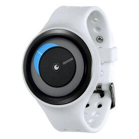 ZEROO CRESCENT MOON ゼロ 電池式クォーツ 腕時計 [W01101B03SR01] ホワイト デザインウォッチ ペア用 メンズ レディース ユニセックス おしゃれ時計 デザイナーズ
