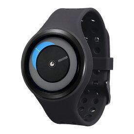 ZEROO CRESCENT MOON ゼロ 電池式クォーツ 腕時計 [W01101B03SR02] ブラック デザインウォッチ ペア用 メンズ レディース ユニセックス おしゃれ時計 デザイナーズ