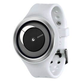 ZEROO CRESCENT MOON ゼロ 電池式クォーツ 腕時計 [W01102B01SR01] ホワイト デザインウォッチ ペア用 メンズ レディース ユニセックス おしゃれ時計 デザイナーズ