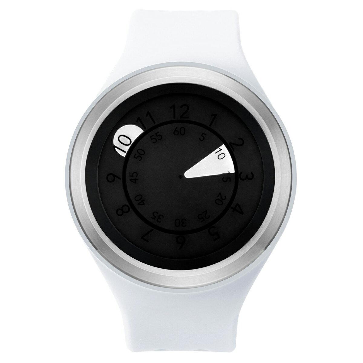 ZEROO AQUA DROP ゼロ 電池式クォーツ 腕時計 [W01201B01SR01] ホワイト デザインウォッチ ペア用 メンズ レディース ユニセックス おしゃれ時計 デザイナーズ