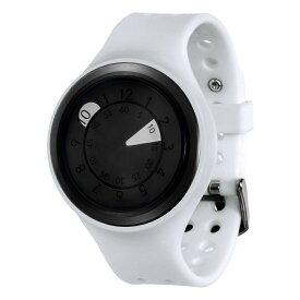ZEROO AQUA DROP ゼロ 電池式クォーツ 腕時計 [W01201B03SR01] ホワイト デザインウォッチ ペア用 メンズ レディース ユニセックス おしゃれ時計 デザイナーズ