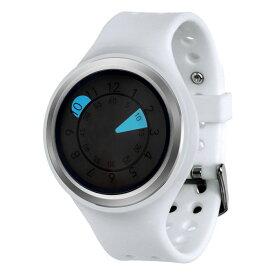 ZEROO AQUA DROP ゼロ 電池式クォーツ 腕時計 [W01202B01SR01] ホワイト デザインウォッチ ペア用 メンズ レディース ユニセックス おしゃれ時計 デザイナーズ