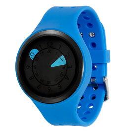 ZEROO AQUA DROP ゼロ 電池式クォーツ 腕時計 [W01202B03SR04] ブルー デザインウォッチ ペア用 メンズ レディース ユニセックス おしゃれ時計 デザイナーズ