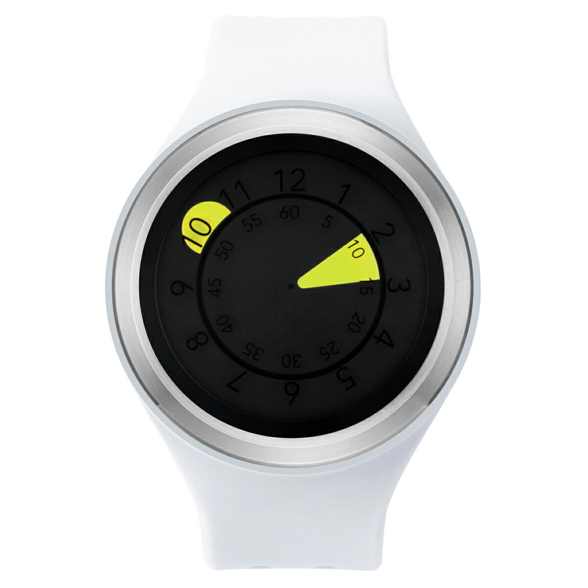 ZEROO AQUA DROP ゼロ 電池式クォーツ 腕時計 [W01203B01SR01] ホワイト デザインウォッチ ペア用 メンズ レディース ユニセックス おしゃれ時計 デザイナーズ