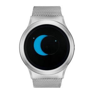 ZEROOSUPERMOONゼロ電池式クォーツ腕時計[W02006B01SM01]ブルー