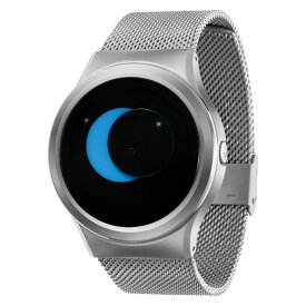 ZEROO SUPER MOON ゼロ 電池式クォーツ 腕時計 [W02006B01SM01] ブルー デザインウォッチ ペア用 メンズ レディース ユニセックス おしゃれ時計 デザイナーズ
