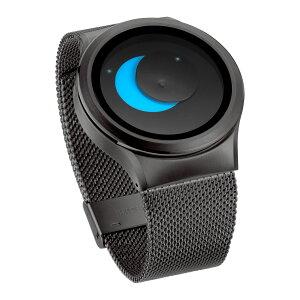 ZEROOSUPERMOONゼロ電池式クォーツ腕時計[W02006B02SM02]ブルー