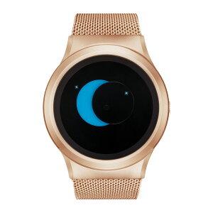 ZEROOSUPERMOONゼロ電池式クォーツ腕時計[W02006B05SM05]ブルー